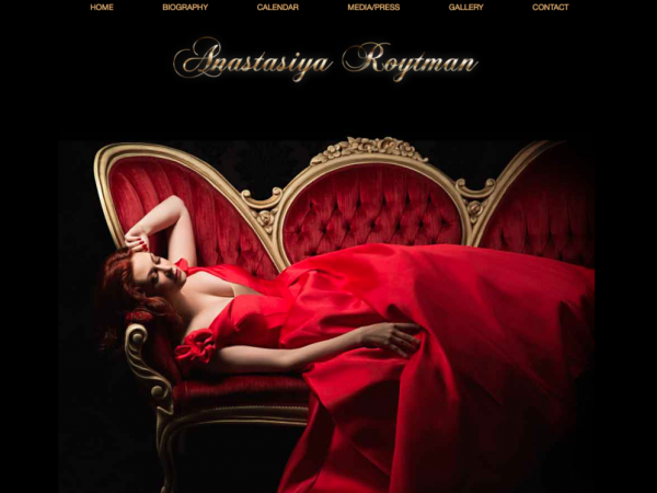 Anastasiya Roytman Homepage